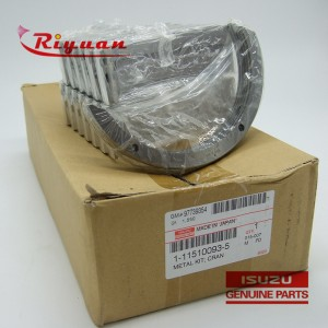1-11510093-5  Isuzu the crankshaft tile STD 0007- 6WA1/F1/G1