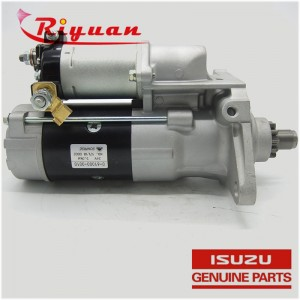 8-98141206-1 6HK1 Japanese Car Starter Assembly for ISUZU FVR