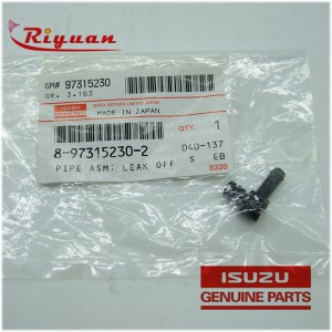 8-97315230-2 Isuzu 4JJ1 Leaf Off Pipe Asm