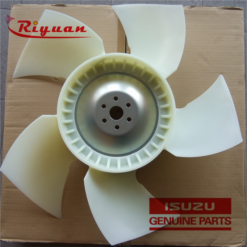 8-98018507-0  650-5 Cooling Fan Blade For ISUZU 4HK1 4JJ1XYSA Featured Image