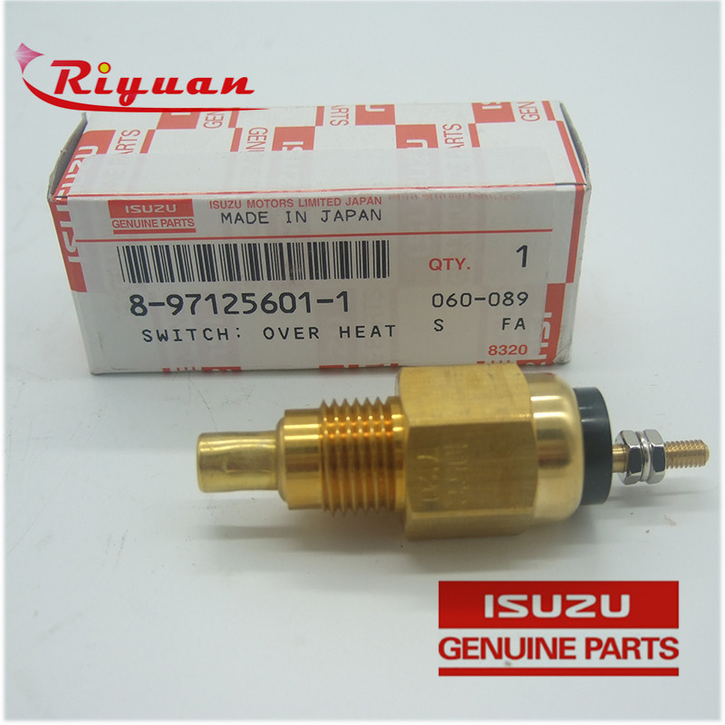 8-97125601-1 Over Heat Warning Switch Suitable for ISUZU ZX200 6BG1T Featured Image
