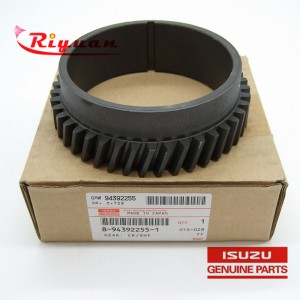 8-94392255-1 ISUZU XY NPR 4HK1  Oem Isuzu Parts Crankshaft Gear