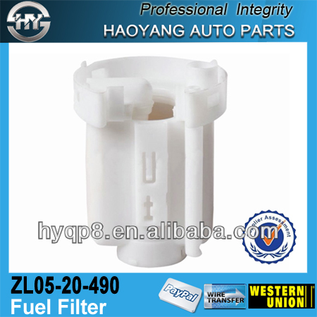 China auto parts fuel filter for Japanese car 323 Premac ZL05-20-490
