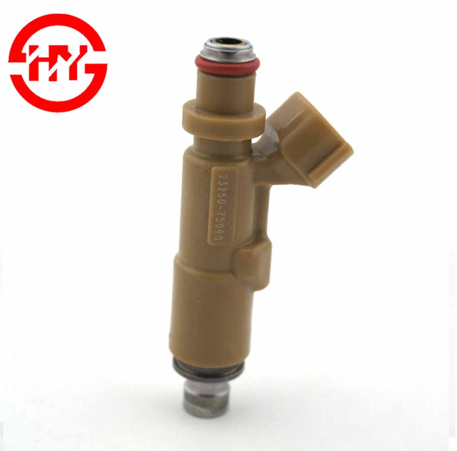 Japanese Car TOY RZJ95 Original Electronic injector nozzle fuel injectors 23250-75090 23209-75090