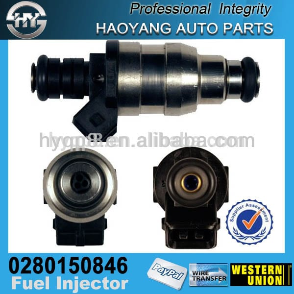 For American Car Naturally Aspirated 0280150846 Electric Fuel Oil Spray Injector Injection Nozzle Assy