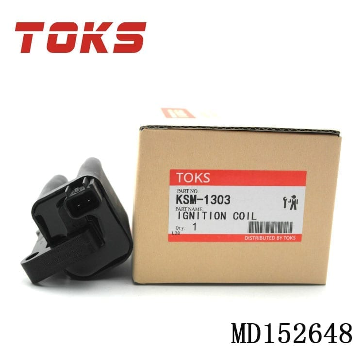 high quality auto ignition system ignition coil for Japanese car oem MD152648