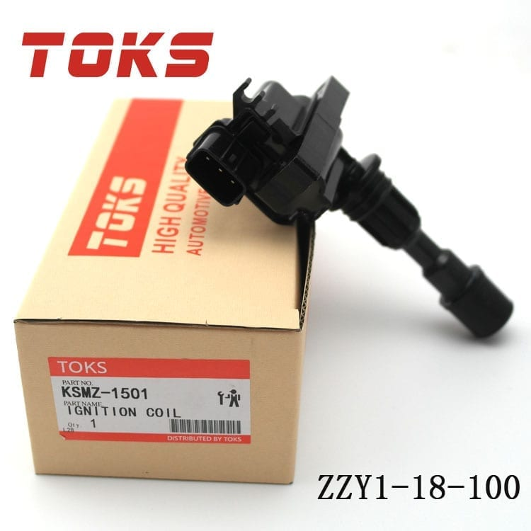 High Quality Motor Vehicle Engine Parts Ignition Coil OEM NO.ZZY1-18-100 ZL01-18-100A 100B