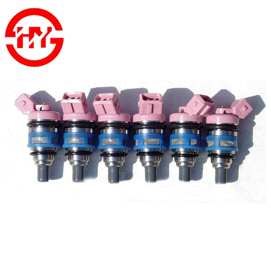 High flow injector 1992 2960CC VG30E Car fuel System Nozzles Pink fuel injection OEM 16600-85E01 0N13 2316D Featured Image
