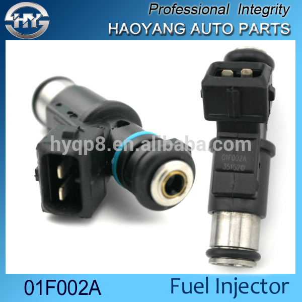 Good price auto engine parts fuel injector 01F002A for European car Peuge 1007 206 306 307