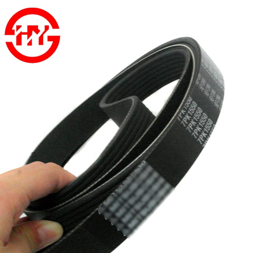 China supplier automotive PK belt OEM 7PK1550 car timing belt for car machine