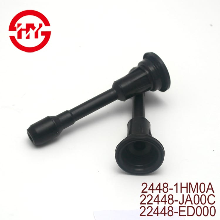 produk anyar 13.8cm PBT karet TO-048 Ignition kabel Ignition Coil Karet Boot FOR Ignition Coil