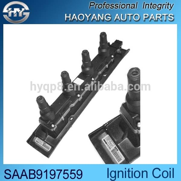 High quality auto spare part American Car OEM SAAB9197559 candle ignition spray coil