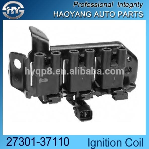 TOKS Auto Spare engine Parts Korean electronic Ignition coil pack for 1.1 1086ccm OEM 27301-02100