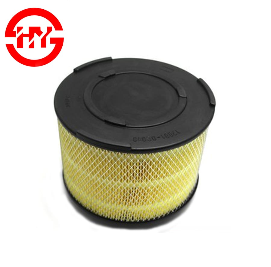 Hot sölu Clean Element Air Filter 17801-0C010 fyrir japanska bíl