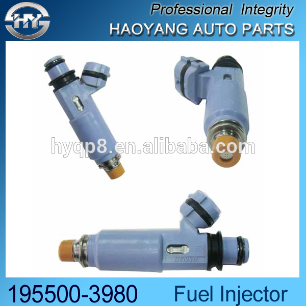 Auto accessories wholesale price Original quality nozzles Fuel injector for Car OEM. 195500-3980