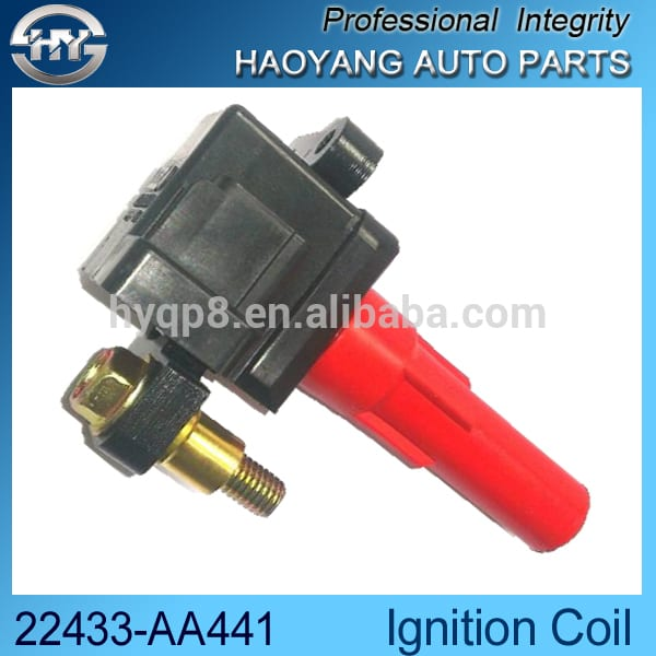 B9 3.0L OEM FK0140 لاء TOKS گهٽ voltage Socket Ignition coil 22433-AA441 22433-AA530 22433-AA531 610-58598 1AECI00231