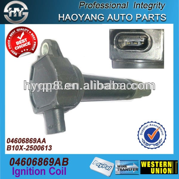 Car accessory TOKS Ignition coil price For American car 300 OEM 04606869AB 04606869AA B10X-2500613 5C1565