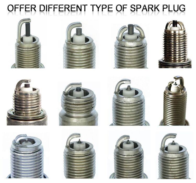 Very favorable Original packing OEM 2397 BKUR6ET-10 Multi-Ground Ignition Spark Plug with nickel center electrode
