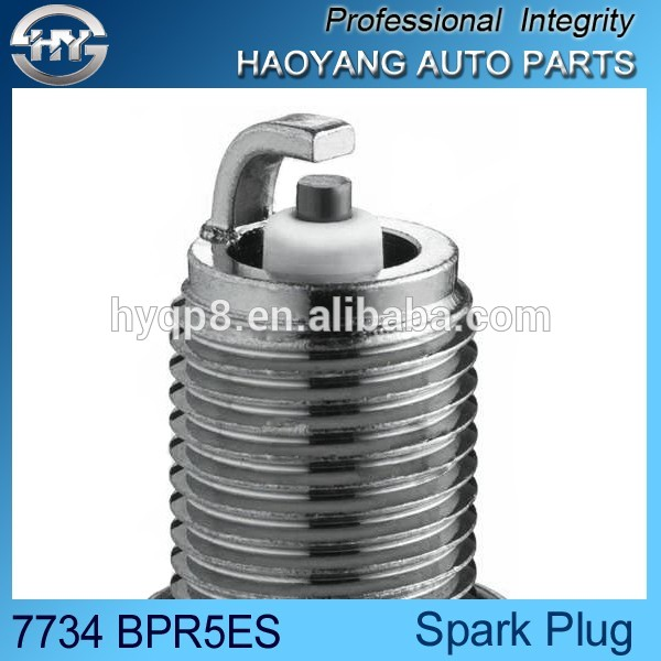 Hot sale 14mm thread size nickel spark plugs OEM# BPR5ES 7734 for AYF AFE BHJ engine