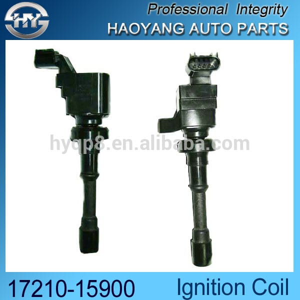 Factory Outlets Spark Plug For Corolla - 12v Electronic Ignition coil Japan generator ignition coil OEM 17210-14900 – Haoyang
