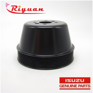 8-98048162-0 Fan pulley for isuzu  4HK1 Excavator engine variable speed pulley SH200-5 CX240B parts Speed belt pulley