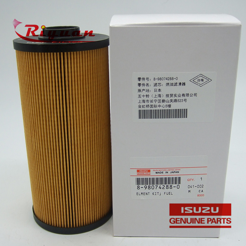 8-98074288-0 Isuzu BVP 4HK1 Fuel Filter Featured Image