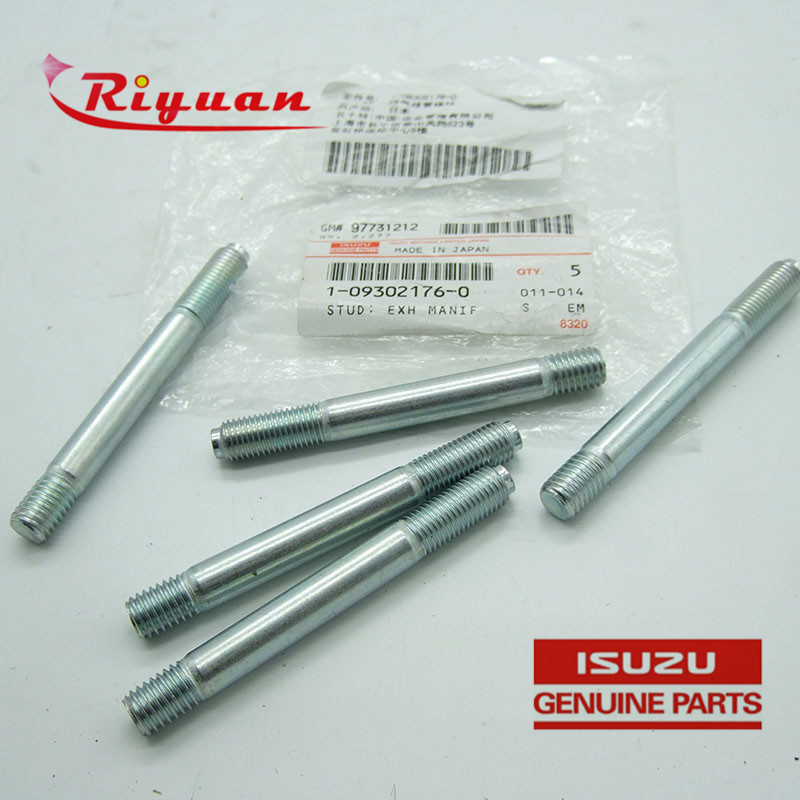 1-09302176-0 GENUINE AND BRAND NEW DIESEL ENGINE PARTS EXH MANIF STUD